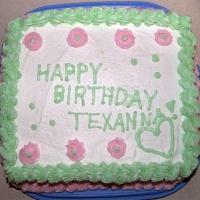 2007 Texanmom's Birthday Cake