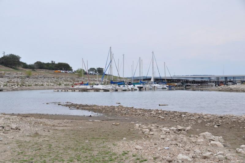 Low water at Marina