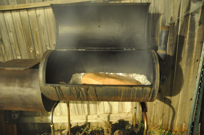 Brisket Smoking!