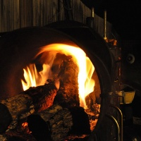 We have FIRE in the firebox.
