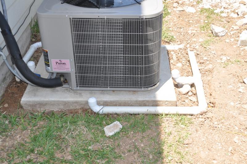AC drain lines