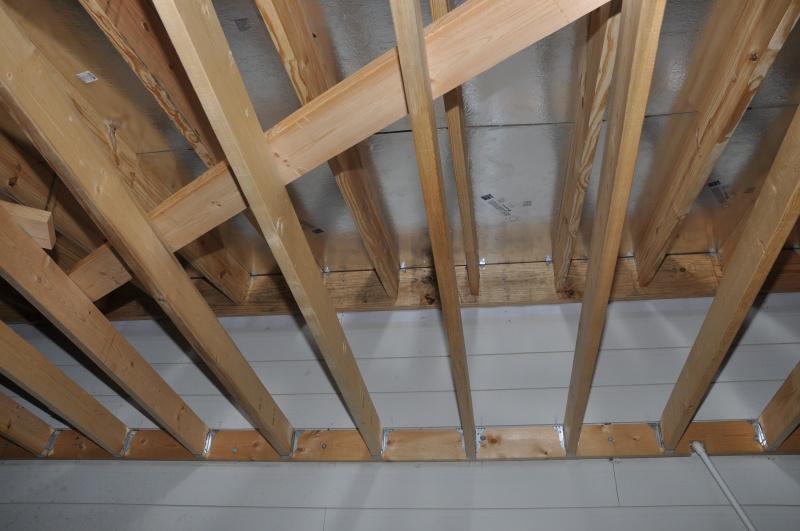 Underside of roof