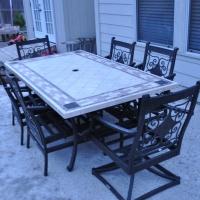 Real patio furniture!