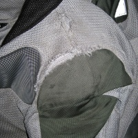 Shoulder of jacket