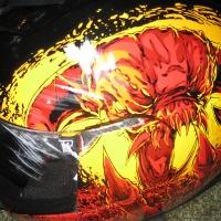 Busted Helmet
